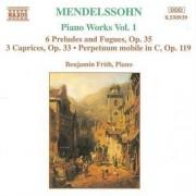 F. Mendelssohn-Bartholdy - Piano Works Vol.1 (0730099593922) (1 CD)