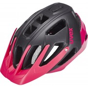 UVEX quatro Helm Damen black mat-pink 52-57 cm Fahrradhelme