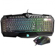 Tt eSPORTS KB-CPC-MBBRUS-01 Challenger Prime RGB Illumination Gaming Keyboard & Mouse Combo