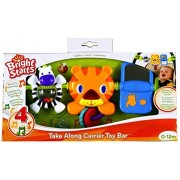 Bright Starts Take Along Carrier Toy Bar Features A Cute Tiger Friend, Fun Melodies, A Light Up Nose, And Other Fun Toys To Keep Baby Happy While Out And About.