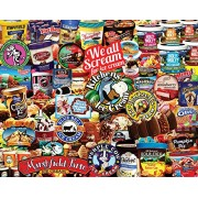 White Mountain Puzzles We All Scream For Ice Cream - 1000 Piece Jigsaw Puzzle