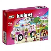 LEGO Friends 10727 - Set Costruzioni Juniors Il Furgone Dei Gelati Di Emma
