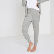 River Island Light grey soft jersey jogger pyjama bottoms