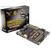 Asus AMD SABERTOOTH 990 FX R2.0 AMD 990FX/SB950 Chipset AM3+ Motherboard