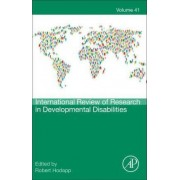 International Review of Research in Developmental Disabilities: Volume 41 by Robert M. Hodapp