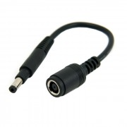 PW-163 DC 7.9 x 5.4mm Lenovo Ultra slim DC Jack to HP Dell 4.8 x 1.7mm Plug Cable 20cm for Laptop