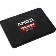 Твърд диск AMD Radeon R3 SATA III 120GB SSD, 2.5 7mm, SATA 6 Gbit/s, Read/Write: 520 MB/s / 360 MB/s, Random Read/Write IOPS 57K/18K, 199-999526
