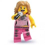 LEGO Minifiguras Coleccionables: Pop Star Minifigura (Temporada 2) (Embolsado)