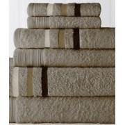 6 Piece Jewel Tone Towel Set