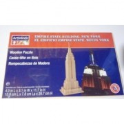 Empire State Building New York; Wooden Puzzle