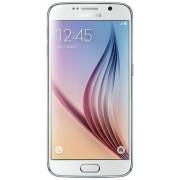 "Telefon Mobil Samsung Galaxy S6, Procesor Octa Core 1.5GHz / 2.1GHz, Super AMOLED capacitive touchscreen 5.1"", 3GB RAM, 32GB Flash, 16MP, Wi-Fi, 4G, Android (Alb) + Cartela SIM Orange PrePay, 5 euro credit, 8 GB internet 4G"