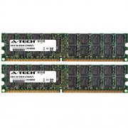 8GB KIT (2 x 4GB) For IBM-Lenovo BladeCenter Series LS22 LS42 QS22. DIMM DDR2 ECC Registered PC2-6400 800MHz RAM Memory. Genuine A-Tech Brand.