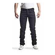 Diesel Men's Belther L.34 Pantaloni Tapered Fit Jeans