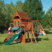 Swing-n-Slide Winchester Wood Complete Swing Set PB 8210