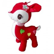 Imported And New Akira 35 cm Creative Cute Red Little Deer Plush Toy