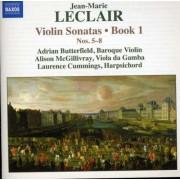 J.M. Leclair - Violin Sonatas Book 1 Vol (0747313088973) (1 CD)