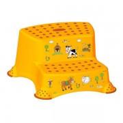 Dupli steper za decu žuti Funny Farm OKT