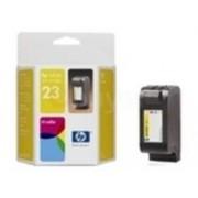 HP 23 Tri Colour Ink Cartridge - Yellow, Magenta, Cyan - C1823D