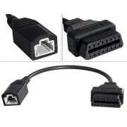 Adapterkabel - Honda 3-pin male till OBD2