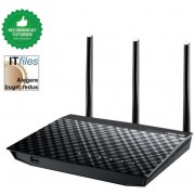 Router Wireless Asus RT-N18U, 2.4GHz, 600Mbps High Power Router, Gigabit Ethernet, USB 3.0