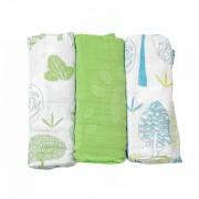 toTs-smarTrike feşe pentru bebeluşi din bambus copaci 170101 verde