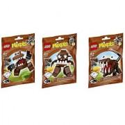 LEGO Mixels Series 2 Bundle Set of Fang Gang Chomly (41512) Gobba (41513) and Jawg (41514)