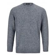 Peter Hahn Rundhals-Pullover aus 100% Wolle Peter Hahn blau
