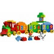 Set Constructie Lego Duplo Ville Trenul Cu Numere