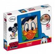 Joc Creativ Mini Pixel Art Quercetti Tablou Donald Duck 1200 Piese