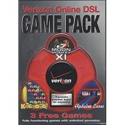 Verizon Online DSL Game Pack: 3 Fun Games (Moon Monkey XI Kachong! Rocket Lanes) English/Espanol (1 CD-ROM in Case)
