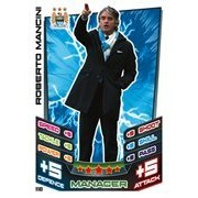 Match Attax 2012/2013 Roberto Mancini Manchester City 12/13 Manager [Toy]