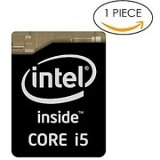 Original 4th Gen. Black Edition Intel Core i5 Inside Sticker 16mm x 21mm with Authentic Hologram