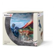 Set Figurine Schleich Set T-Rex Si Velociraptor. Mic - 42216