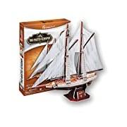 CubicFun Twomasted schooner 3D Puzzle