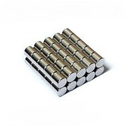 Set Of 25Pcs 5mm x 5mm CYLINDER Rare Earth NdfeB Neodymium Strong Magnets N52