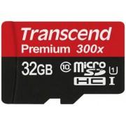 Card de memorie Transcend microSDHC, 32GB, Clasa 10, UHS1