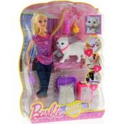 Barbie: Cica gondozó játékszett