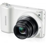 Aparat Foto Digital Samsung WB800 (Alb), Wi-Fi, Ecran touch screen, Zoom optic 21x
