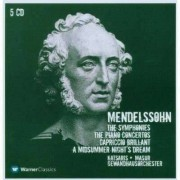 F. Mendelssohn-Bartholdy - Symphonies/ Piano Concerto (0825646276929) (5 CD)