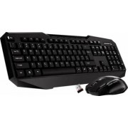 Kit tastatura cu mouse Wireless Tracer Nexus RF TRK-30 Negru