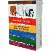 Brown Bear & Friends Board Book Gift Set by Bill Martin