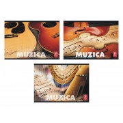 Caiet muzica Pigna, 24 file