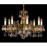 Cast crystal chandelier 9003 08/06A-108S