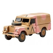 Revell 03246 - British 4 x 4 Off-Road Vehicle Series III 109/LWB Kit di Modello, in Plastica, in Scala 1:35