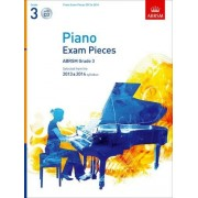 ABRSM Piano Exam Pieces 2013 & 2014, ABRSM Grade 3, with CD: Selected from the 2013 & 2014 syllabus (ABRSM Exam Pieces)