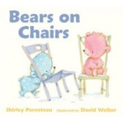 Bears On Chairs Board Book by Shirley Parenteau