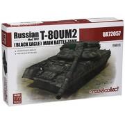 modelcollect ua72057 Modellino Russian T-80um2 mod 1997 BLACK EAGLE Main Battle Tank