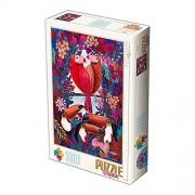 D de Toys 1 - Puzzle 1000 Andrea Kurti Tropical Exotic Birds