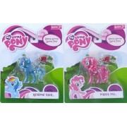 My Little Pony Friendship is Magic Crystal Pony Pinkie Pie Rainbow Dash Keychain Set by My Little Pony Friendship is Magic