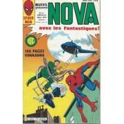 Les 4 Fantastiques ( The Fantastic Four ) + Spider-Woman + Peter Parker Alias L'araignée ( Spider-Man ) : Nova N° 74 ( 5 Mars 1984 )